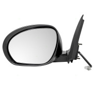 Picture of 11-12 Nissan Juke New Drivers Power Side View Mirror Glass Housing Smooth Assembly