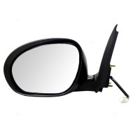 Picture of 11-14 Nissan Juke New Drivers Power Side View Mirror Glass Housing with Chrome Finish
