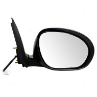 Picture of 11-14 Nissan Juke New Passengers Power Side View Mirror Glass Housing with Chrome Finish