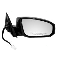 Picture of 04-07 Nissan Maxima New Passengers Side Power Mirror Glass Housing Assembly Heat