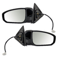 Picture of 04-07 Nissan Maxima New Pair Set Side View Power Mirror Glass Housing Assembly