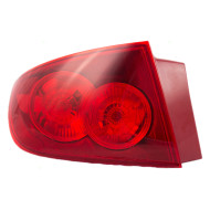 Picture of 04-06 Mazda3 Mazda 3 New Drivers Taillight Taillamp Quarter Panel Mounted with Red Lens Housing Assembly DOT