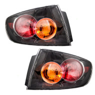 Picture of 04-06 Mazda 3 Mazda3 New Pair Set Taillight Taillamp Lens Housing Assembly DOT