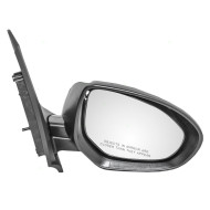 Picture of 11-14 Mazda 2 New Passengers Power Side View Mirror Glass Housing Assembly