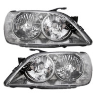Picture of 01-05 Lexus IS300 New Pair Set HID Headlamp Headlight Lens Housing Aftermarket