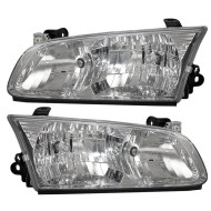 Picture of 00-01 Toyota Camry New Pair Set CAPA-Certified Headlight Headlamp Lens Housing Assembly