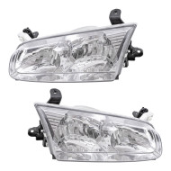 Picture of 00-01 Toyota Camry New Pair Set Headlight Headlamp Lens Housing Assembly