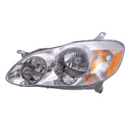 Picture of 03-04 Toyota Corolla CE/LE New Driver Headlight Headlamp Assembly SAE and DOT