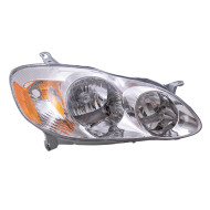 Picture of 03-04 Toyota Corolla CE/LE New Passengers Headlight Headlamp Assembly SAE and DOT