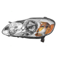 Picture of 03-04 Toyota Corolla S New Driver Headlight Headlamp Assembly Tinted SAE and DOT