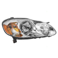 Picture of 03-04 Toyota Corolla S New Passengers Headlight Headlamp Assembly Tinted SAE and DOT