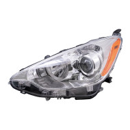 Picture of 12-14 Toyota Prius C New Drivers Headlight Headlamp Lens Housing Assembly DOT