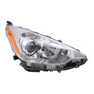 Picture of 12-14 Toyota Prius C New Passengers Headlight Headlamp Lens Housing Assembly DOT