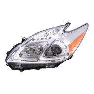 Picture of 12-13 Toyota Prius New Drivers Halogen Headlight Headlamp Housing Assembly DOT