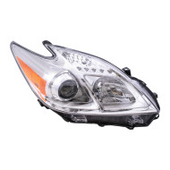 Picture of 12-13 Toyota Prius New Passengers Halogen Headlight Headlamp Housing Assembly DOT
