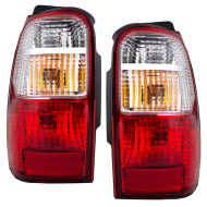 Picture of 01-02 Toyota 4Runner New Pair Set Taillight Taillamp Assembly SAE and DOT Stamped