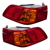 Picture of 00-01 Toyota Camry New Pair Set Taillight Taillamp Lens Housing Assembly DOT