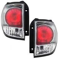 Picture of 01-03 Lexus RX300 New Pair Set Taillight Taillamp Quarter Panel Mounted Lens Assembly DOT
