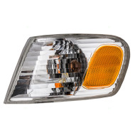 Picture of 01-02 Toyota Corolla New Drivers CAPA-Certified Park Signal Corner Marker Light Lamp Amber and Clear Lens Assembly