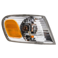 Picture of 01-02 Toyota Corolla New Passengers CAPA-Certified Park Corner Signal Marker Light Lamp Amber and Clear Lens Assembly