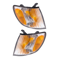 Picture of 01-03 Toyota Sienna Van New Pair Set Park Signal Corner Marker Light Lamp Lens Housing