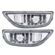 Picture of 01-02 Toyota Corolla New Pair Set Fog Light Lamp Lens Housing Assembly SAE