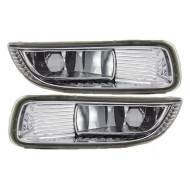 Picture of 03-04 Toyota Corolla New Pair Set Fog Light Lamp Lens Housing Assembly SAE