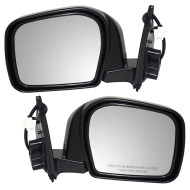 Picture of 00-02 Toyota 4Runner New Pair Set Power Side View Mirror Glass Housing