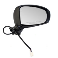 Picture of 10-15 Toyota Prius & Plug-In New Passengers Power Side View Mirror Glass Housing Heated
