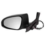 Picture of 12-14 Toyota Prius C New Drivers Power Side View Mirror Glass Housing Heated Signal