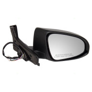 Picture of 12-14 Toyota Prius C New Passengers Power Side View Mirror Glass Housing Heated Signal