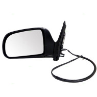 Picture of 98-03 Toyota Sienna New Drivers Power Side View Mirror Glass Housing Assembly