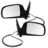Picture of 98-03 Toyota Sienna New Pair Set Power Side View Mirror Glass Housing Assembly