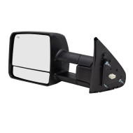 Picture of 07-15 Toyota Tundra Pickup Truck New Drivers Power Tow Mirror Glass Housing Heated Signal Manual Telescopic