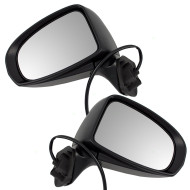 Picture of 10-15 Toyota Prius & Plug-In New Pair Set Power Side View Mirror Glass Housing Assembly