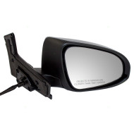 Picture of 12-14 Toyota Prius C New Passengers Power Side View Mirror Glass Housing with Signal