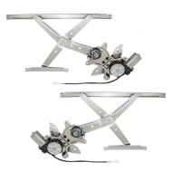 Picture of 98-02 Toyota Corolla New Pair Set Front Power Window Lift Regulators with Motors Assemblies