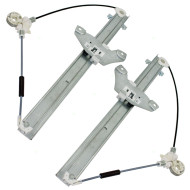 Picture of 1996-2000 Toyota RAV4 4-Door SUV New Pair Set Front Power Window Lift Regulators