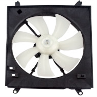 Picture of 00-01 Toyota Camry Solara 4 cyl New Passengers AC A/C Condenser Cooling Fan Motor Assembly