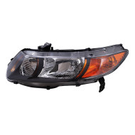 Picture of 06-09 Honda Civic SI 2.0L New Driver's Headlight Headlamp Lens Housing Assembly SAE DOT