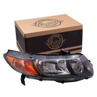 Picture of 06-09 Honda Civic Si 2.0L Engine New Passengers Headlight Headlamp Lens Assembly SAE DOT