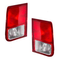 Picture of 01-02 Honda Civic New Pair Set Taillight Taillamp Lens Housing Lid Mounted DOT