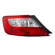 Picture of 06-08 Honda Civic New Driver's Taillight Taillamp Lens Housing Assembly Aftermarket SAE DOT