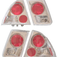 Picture of 01-02 Honda Civic New Pair Set Altezza Taillight with Back-Up Lamps Assembly DOT