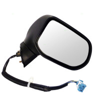 Picture of 06-11 Honda Civic New Passengers Power Side View Mirror Glass Housing Heat Heated