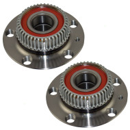 Picture of Audi TT Volkswagen Beetle Golf Jetta New Pair Set Rear Wheel Hub Bearing Assembly