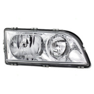 Picture of 00-04 Volvo S40  V40 New Passengers Headlight Headlamp Lens Housing with Chrome Bezel Assembly DOT