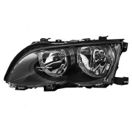 Picture of 02-05 BMW 3 Series New Drivers Halogen Headlight Headlamp Lens Housing Assembly DOT