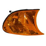Picture of 02-03 BMW 3 Series New Passengers Park Signal Corner Marker Light Amber Lamp Lens Assembly DOT