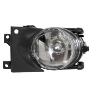 Picture of 01-03 BMW 5 Series New Drivers Fog Light Lamp Round Lens Housing Assembly SAE
